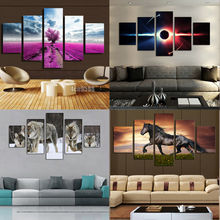 huge modern home wall decor art oil painting picture print no frame pretty good - Home Goods Wall Decor