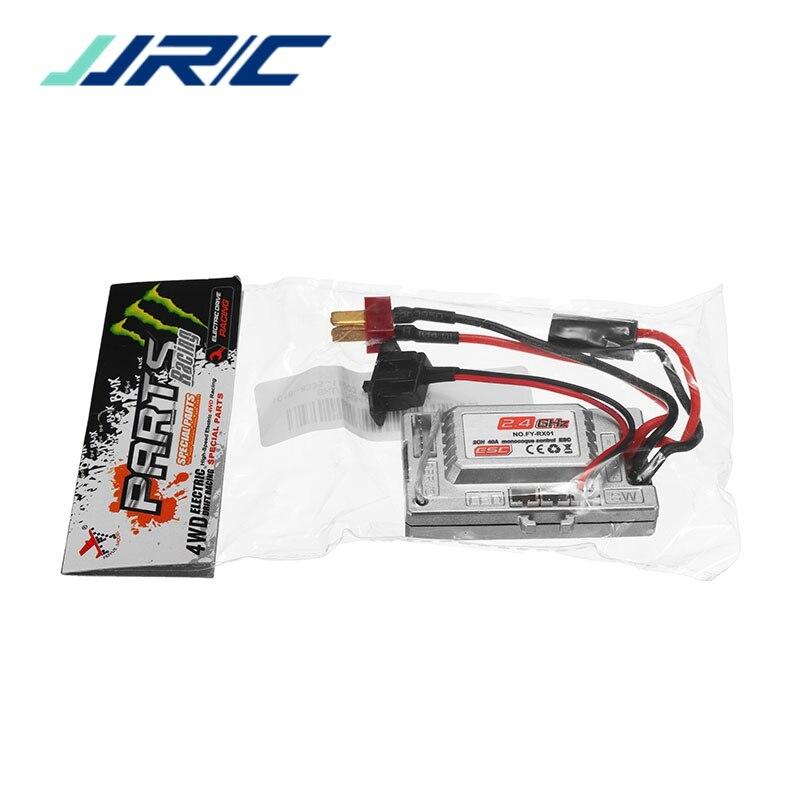 JJRC Q39 2.4G R/C 4WD 1:12 RC Auto Parte NO.FY-RX01 2CH 40A Monoscocca Control ESC Regolatore di Velocità Ricambi Accessori