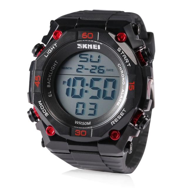 2017 Marca de Lujo de Los Hombres Militar Deportes Relojes de moda correa de caucho LED Digital Relojes de Pulsera relogio masculino Nuevas Llegadas