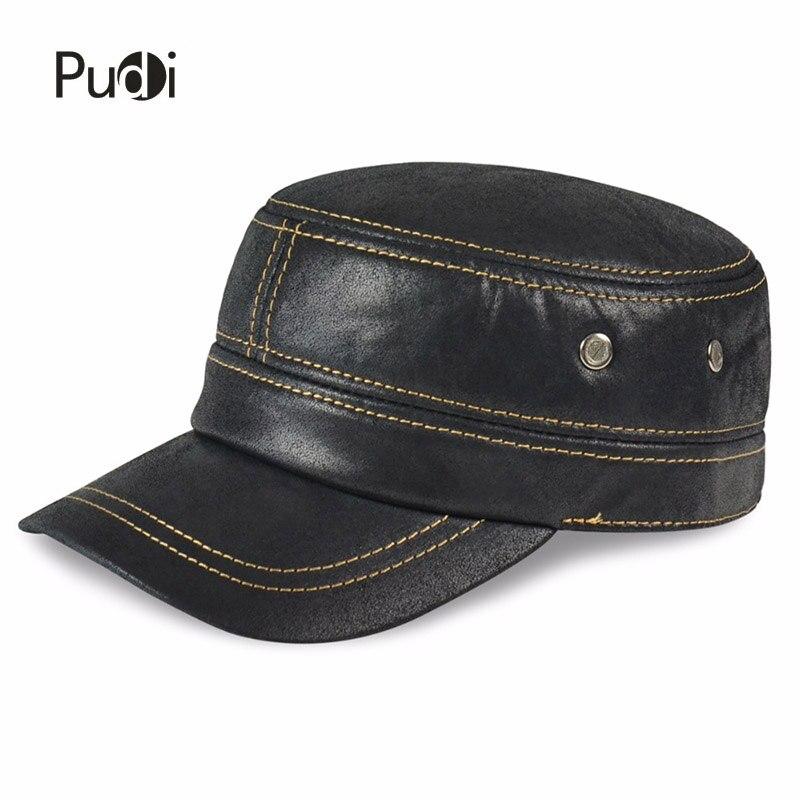 HL019 Բնական կաշվե բեյսբոլի գլխարկ Fashion - Հագուստի պարագաներ - Լուսանկար 4