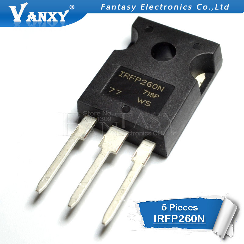 5PCS IRFP260NPBF TO-247 IRFP260N TO247 IRFP260 TO-3P new MOS FET transistor5PCS IRFP260NPBF TO-247 IRFP260N TO247 IRFP260 TO-3P new MOS FET transistor