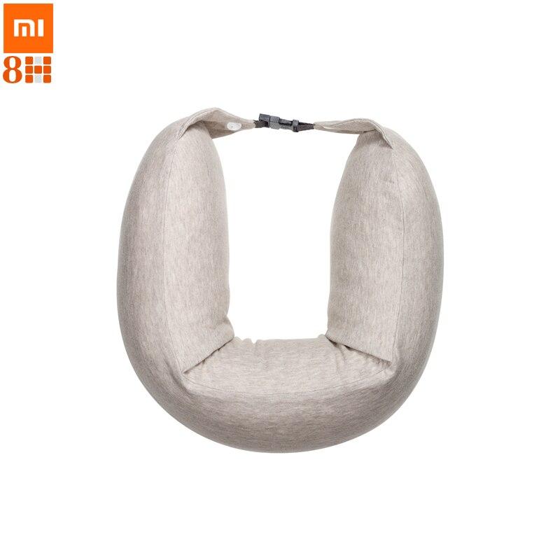 imágenes para Original xiaomi 8 h u1 cuello almohada cintura almohada en forma de u almohada coche de protección multifunción para oficina resto cojín para dormir