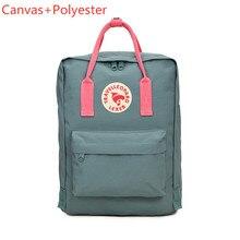 ac265dd9bb801 2019 nowy kobiety Min płótnie podróży plecak oryginalny Kanken plecaki dla  nastolatek dziewczyny szkoła tornister Laptop