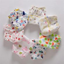 NEW ! Baby Diapers Children Reusable Underwear Breathable Diaper Cover Cotton Training Pants Can Tracked free shipping