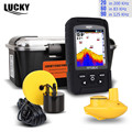 LUCKY FF718LiCD Fish Finder Monitor 2 in 1 200KHz/83KHz Dual Sonar Frequency 328ft/100m Fishfinder Color Visual Display