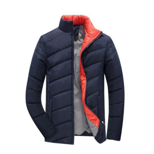 2016 Novos Homens Jaqueta de Inverno Dos Homens Para Baixo Casaco de Algodão Casacos de Inverno Dos Homens Engrossar Quente Outwear Para Homens Streetwear Casacos Masculinos