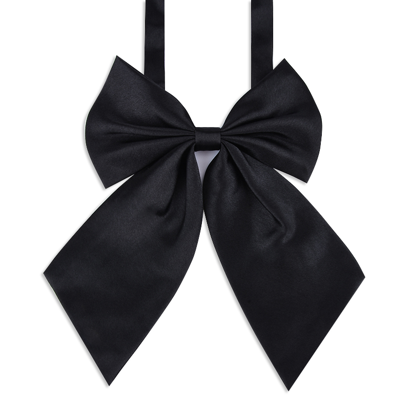 COTREAM 1Piece Red Butterfly Women's Bow Tie Black Knot Female Girl Student Hotel
