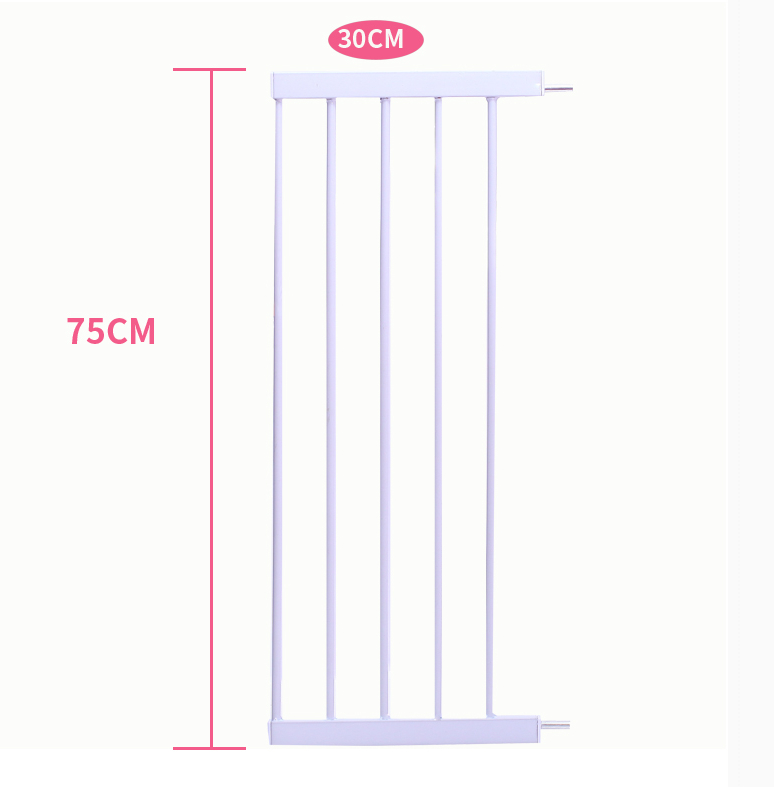 EUDEMON New arrival gate stair guardrail baby gate 10cm 20cm 30cm and 45cm extension pan ...