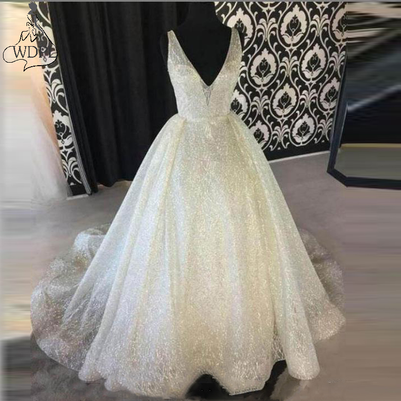 Evening Dresses Jieruize White Satin Beaded Mermaid Evening Dresses Long Deep V-neck Sexy Prom Dresses Formal Dresses Robe De Soiree