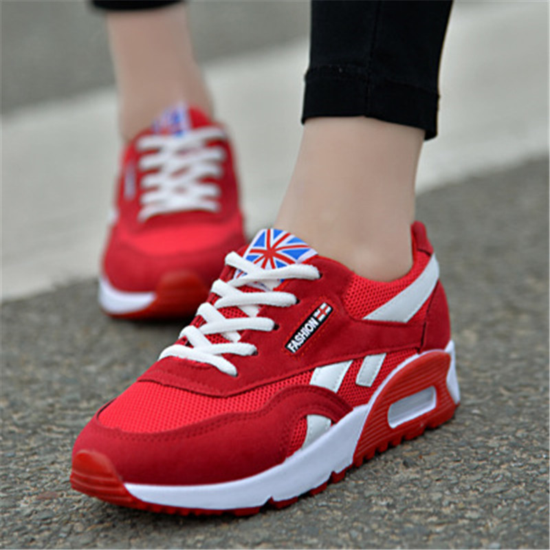 Women Sneakers Sport-Shoes FANDEI Breathable Zapatillas Girls Mujer for Free-Run Hombre