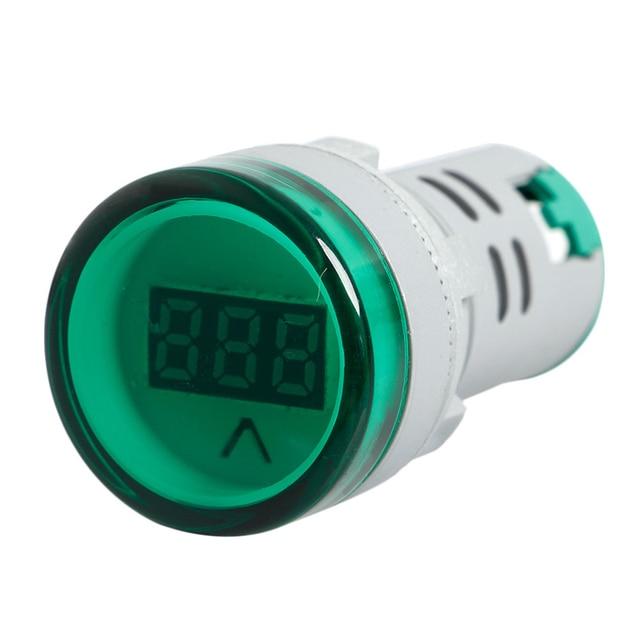 2018 New 22 MM AC 60V-450V Digital Display Voltmeter Lights Combo Indicator W-store Oct24_A
