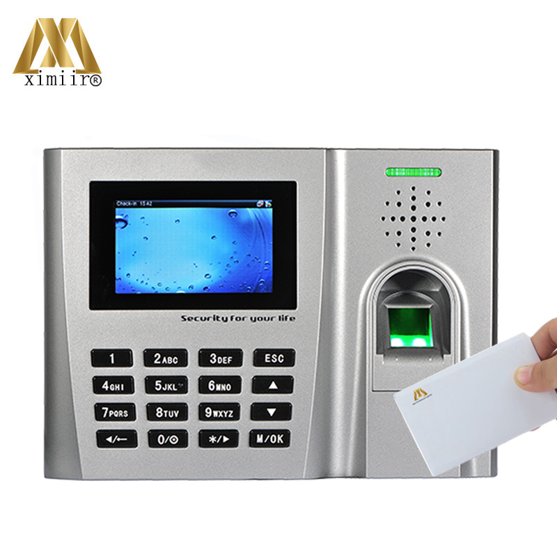 Good Quality ZK U260 Fingerprint Time Attendance With MF Card Reader TCP/IP Webserver Biometric Time Recording Time Clock