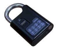 Biometric Reader Door lock Fingerprint Padlock Metal Case Fingerprint+password 2 in 1 Stocked House lock safe lock security lock