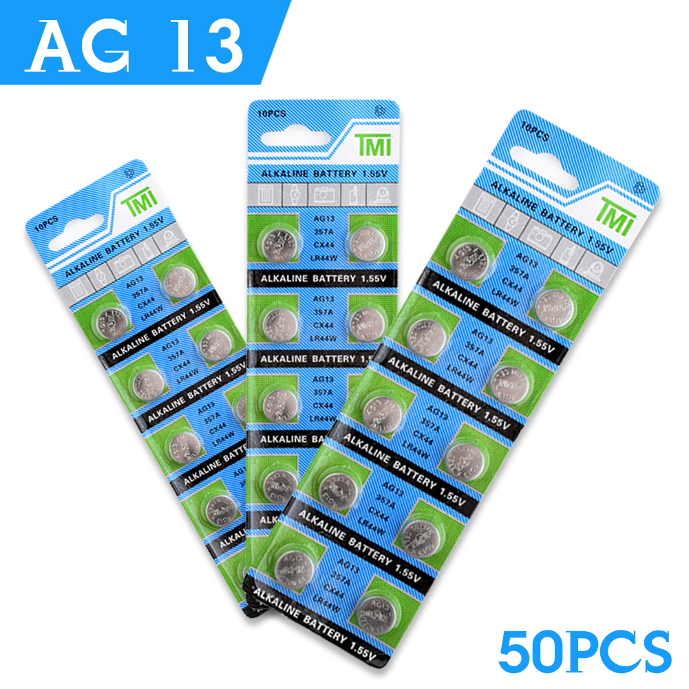 /<LIVRAISON GRATUITE/> GENUINE LR44 1.5V Alkaline Cell Battery 10pcs per pack