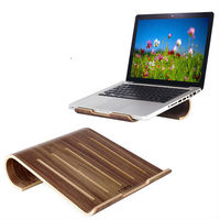Fashion Laptop Stands Wooden Stand For Notebook Holder With Cooling Function Universal Wood Bracket For Laptop