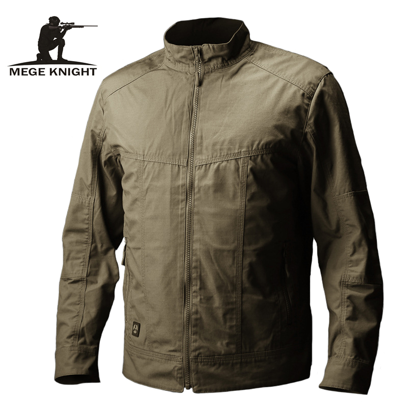 Mege Brand Clothing Men Autumn Jacket Tactical Coat Military Army Clothing Casual Coat For Men Casaco Masculino Veste Homme