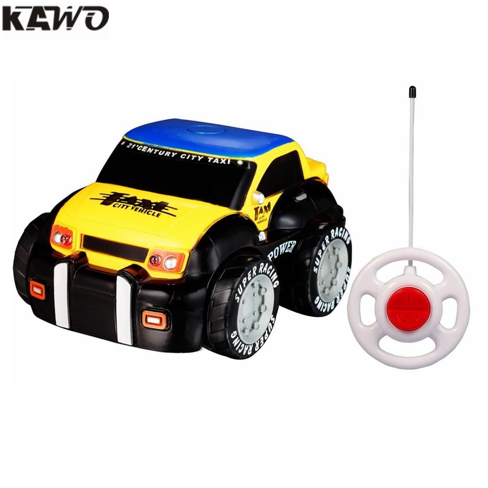 Cartoon Children Electric RC Car Mini Remote Control Race Cars ...
