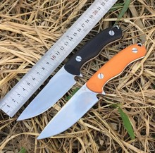2016hot Outdoor tool D2 steel high hardness knife  Small straight knife wilderness survival With a knife Self-defense knife