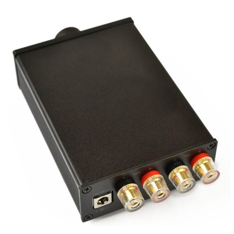 KYYSLB Home Audio Amplifier 100W Desktop TPA3116 Dual Channel D Class HIFI Fever Pure Post-level 2.0 Digital Amplifier