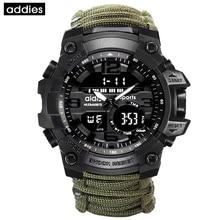 Для мужчин спортивные часы Флинтстоун открытый компасы Топ Элитный бренд G Стиль Шок Военная Униформа винтажные часы водонепроница…