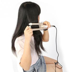 Image 2 - Ceramic Temperature Adjustable Triple Pipe Hair Curler Curling Iron Styling Tool