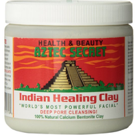 American Aztec Indian Healing Clay natural God mud mask to clean pores