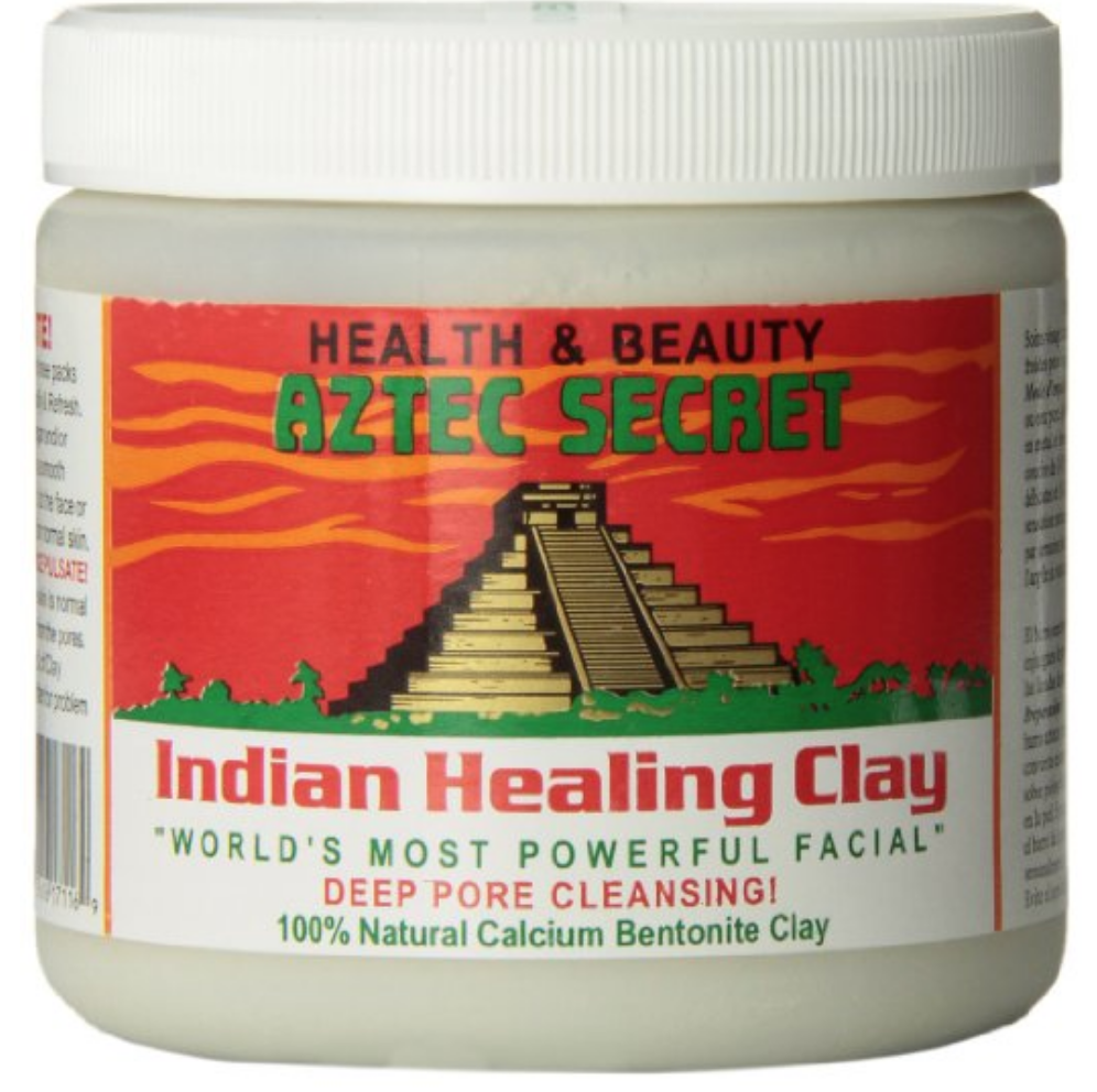American Aztec Indian Healing Clay natural God mud mask to clean poresAmerican Aztec Indian Healing Clay natural God mud mask to clean pores