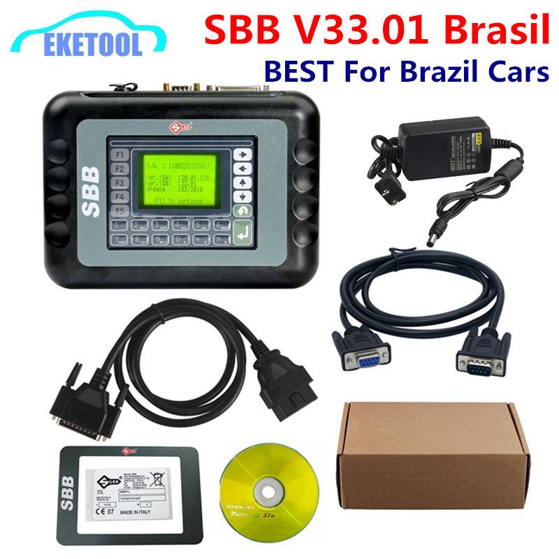 Silca sbb V33.01 реальная версия специально для бразильских автомобилей V33.01 Brasil для GM Pin код Auto Key Программист добавил больше функций