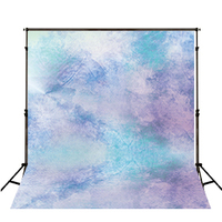 TR Purple and Blue Bokeh Newborn Photography Backdrops Digital Printed Photo Studio Background Baby Birthday Photo Booth Props