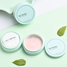 By Nanda Smooth Loose Powder for Face Mineral Powder Pressed Puff Skin Finish Foundation Cosmetics Brighten Makeup Maquiagem