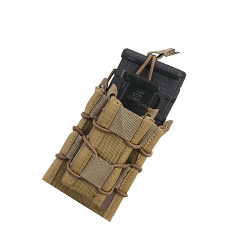 Tactical Double Decker Magazine Pouch military army bag Utility Pouch MOLLE 1000D Multicam Black Coyote Brown Good Quality