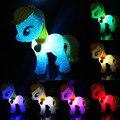 Colorido de la Historieta Caballo Lámpara de Luz Nocturna Cambio de Colores Niño Kids Sleeping Novedad Light-up Juguetes