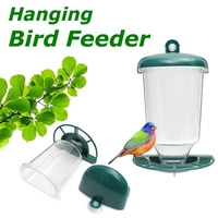 Автоматический, для окна кормушка для диких птиц семена подвешивания присоска для сада Кормление птицы арахиса кормушки