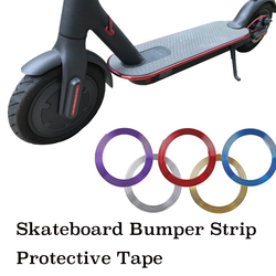 Skateboard Stoßstange Streifen Schutzhülle Streifen Band 8 mt für Xiaomi Mijia M365 Elektrische Skateboard Auto Roller Teile Dekorative Streifen