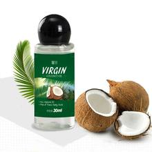 3PCS VIRGIN Coconut Oil Extract Cold Pressed Natural Healthy Oil for Aromatherapy Hair&Skin Care /Makeup Remover/Body Message(China)
