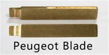 Keyecu 10pcs/lot KEYDIY Universal Remotes Key Flip Blade HU83 for Peugeot,Citroen,Fiat