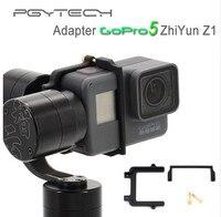 PGY GoPro Hero 5 Adapter Mount Bracket Plate Clip Holder For Zhiyun Z1 Evolution Gimbal Sports