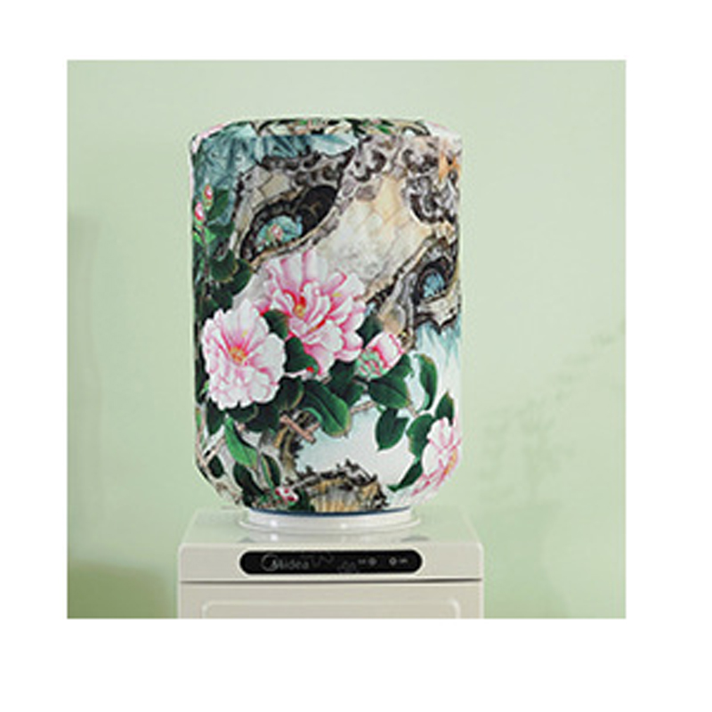 Printed Cartoon Floral Water Dispenser Dust Cover Polyester Creative Drinking Fountains Water Dispenser Covers