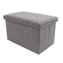 Multifunctional Foldable Storage Organizer Chair Storage Box