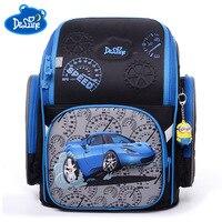 Children School Bags Burden Reducing primary School Backpacks 3D Car Print Orthopedic school Backpack For Boys Mochila Infantil
