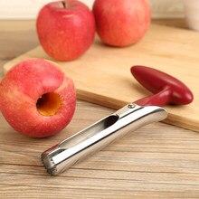 3 di stile di Vendita Calda In Acciaio Inox Attrezzo Della Cucina Gadget Frutta Seeder Nucleo di Rimozione di Strumenti Frutta Verdura Mela Pera Corer Facile torsione