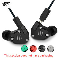 KZ ZS6 2DD 2BA Hybrid In Ear Earphone Monito Running Sport Bluetooth Earphones Metal Earphone HIFI