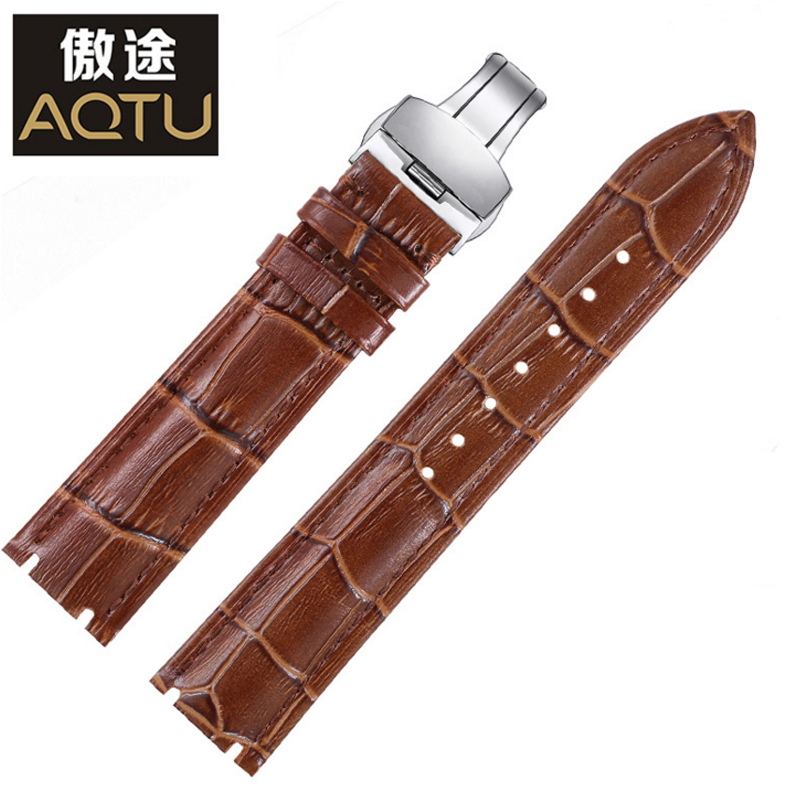 Genuine Leather Watchbands For Rossini 5565 5567 Men Retro Watch Straps Ladies Clock Belt Bracelet Correas Para Reloj Watch Band цена и фото