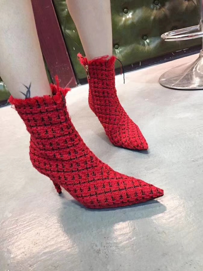 as Show Las Mujeres La Estrella De Punta Rodilla Sexy Sobre Nuevo Show Botas Pasarela Zapatos Altos Tacones Estilo As Moda Corto Mujer wqP1nR