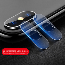 For iPhone X XS MAX 8 7 Plus 6 6S Tempered Glass Rear Lens Protective Camera Screen Protector XR