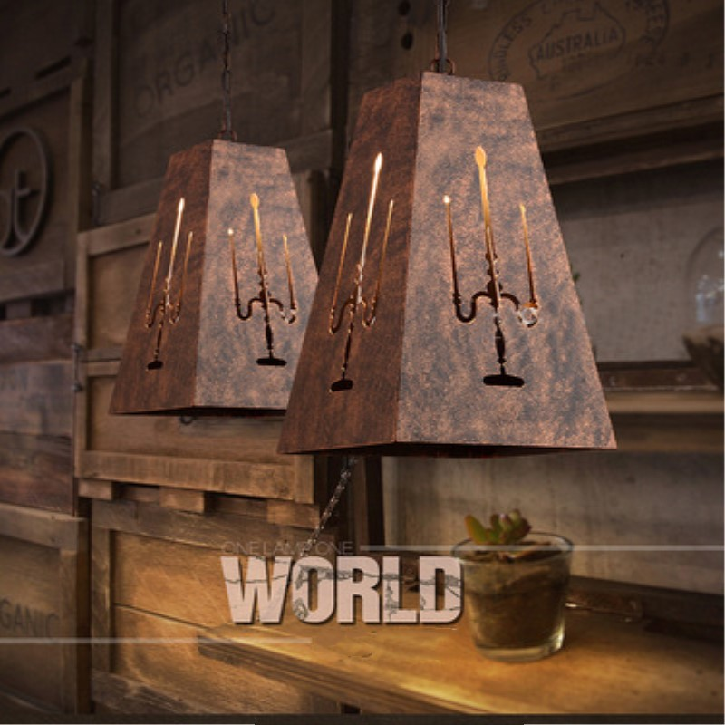 American Country Retro Industrial style Iron Pendant Light Retro Loft Cafe Restaurant Decoration Lamp Free Shipping vintage iron pendant light industrial loft retro droplight bar cafe bedroom american country style hanging lamp wpl020