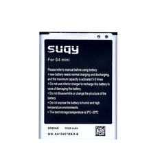 B500AE Replacment li ion Bateria Accumulator for Samsung Galaxy S4 Mini i9190 I9198 I9192 i9195 Battery for Mobile Phone cheap suqy 1801mAh-2200mAh Compatible ROHS replacement rechargeable Internal 45C--25C for Samsung Galaxy I9192 i9195 1920mAh 1 x battery
