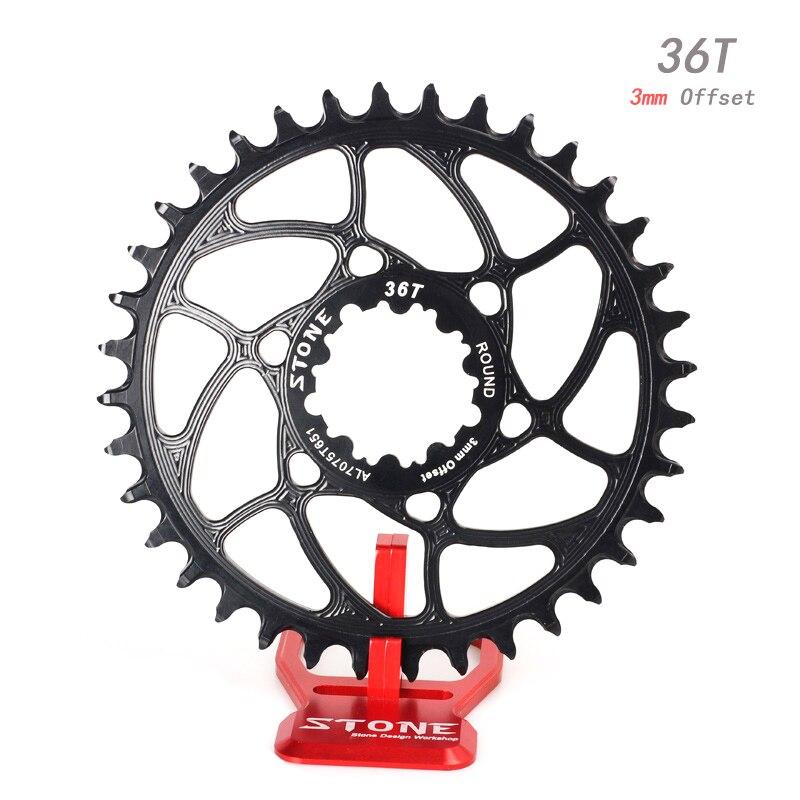 Stone Bike Single Chainring 3mm Direct Mount Circle For DUB Eagle Boost 148mm XX1 XO1 S2210