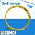 1.5meters Fiber Optic Patch Cord LC/UPC-E2000/APC Single mode Simplex 3.0mm PVC fiber cable 5pcs/lot