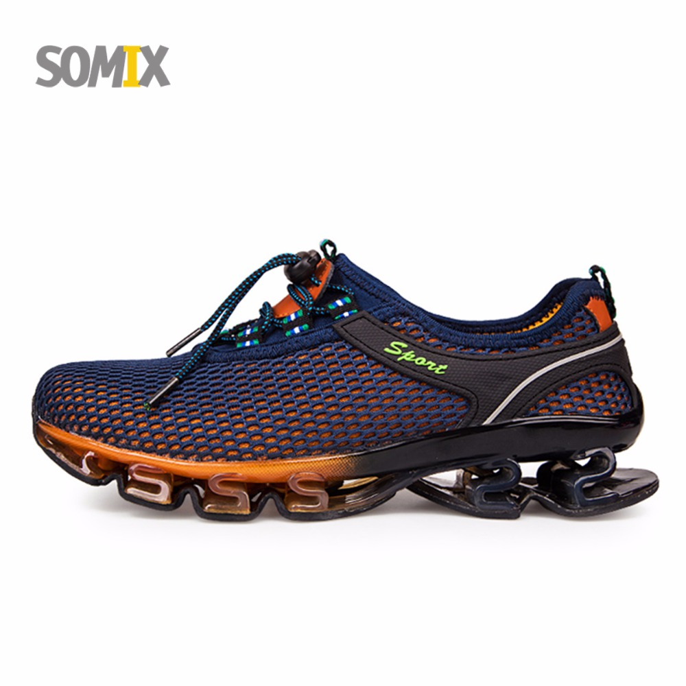 Summer Style Somix Ultralight Damping Running Shoes for Men Free Run Sneakers 2017 Slip-On Breathable Blade Soles Sport Shoes jaydeb bhaumik and satyajit das substitution permutation network type block cipher
